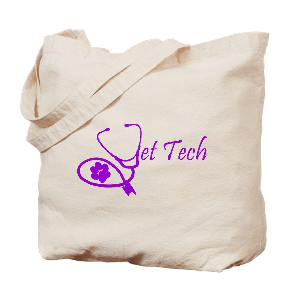 CafePress – Vet Tech聴診器デザイン – ナチュラルキャンバストートバッグ、布ショッピングバッグ M ベージュ 13775103656893C B073QTF8GB MM