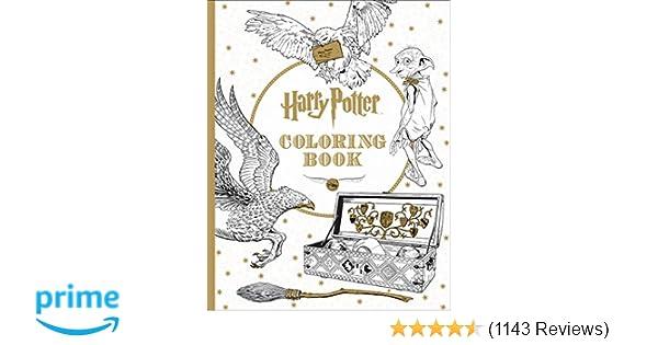Harry Potter Coloring Book Scholastic 9781338029994 Amazon Books