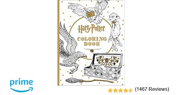 Harry Potter Coloring Book: Scholastic: 9781338029994: Amazon.com ...