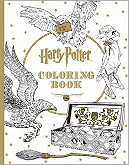 Harry Potter Coloring Book Scholastic Inc 9781338029994 Books