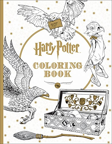 Enter The Magical World Of Hogwarts Once More With This New Series Coloring Books Book Has Over 90 Pages Just Waiting For Your Colored Pencils To