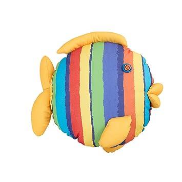 Amazon.com: socomp Creative pescado beso lona, para el hogar ...