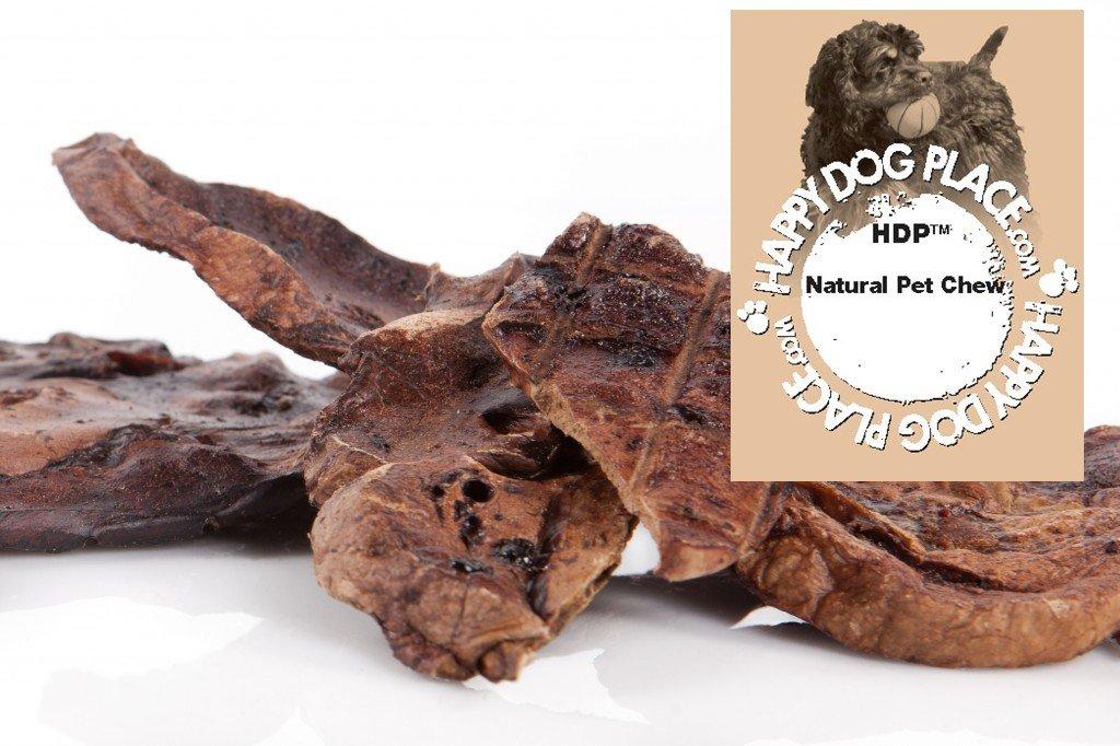 HDP Lamb Munchies Sliced Lamb Lung Similar to Baa Baa Q Made in USA Flavor:Lamb Size:5 LB