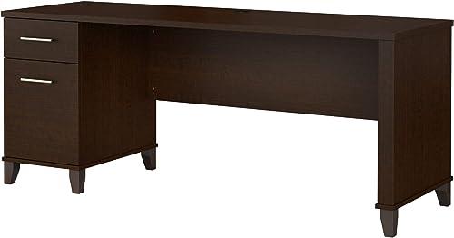 Bush Furniture Somerset 72W Single Pedestal Desk Review