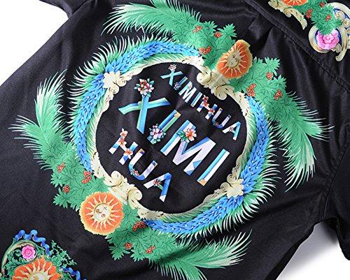 Luxury Homme Belle Shirt Dress Design Al003 À Y1792 De Collection1 04 Soirée Pizoff Chemise Impression Style Élégant T5wBqB