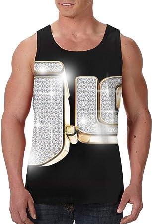 Jennifer López Camiseta sin mangas 3D para hombre, negro, XX-Large: Amazon.es: Hogar