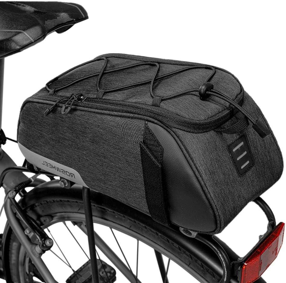 Lixada Bike Bag Bicycle Panniers Bag Large Capacity Waterproof Bicycle Rear Seat Bag Bike Cargo Bag MTB Bike Storage Bag