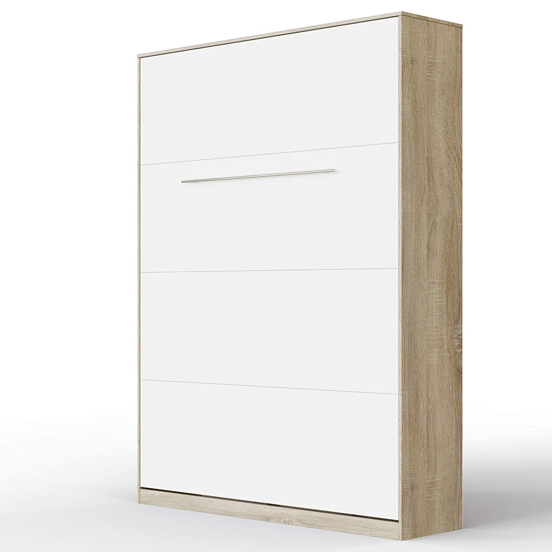 hasta un 50% de descuento Roble Sonoma blancoo 140 140 140 x 200 cm verdeical SMARTBett Standard Cama abatible Cama Plegable Cama de Parojo (Antracita blancoo Brillante, 90 x 200 cm verdeical)  ofreciendo 100%