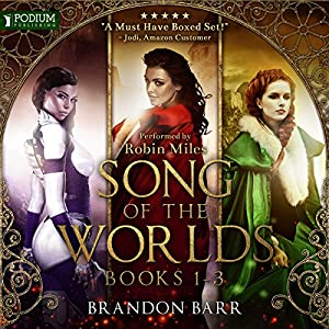 Song of the Worlds, Books 1-3 Audiobook