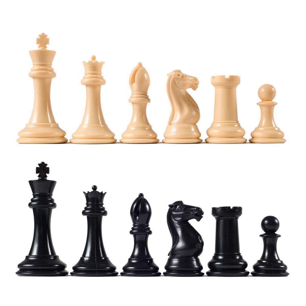 大注目 Premier Tournament - Chess Pieces with 1/8' 4 Premier 1/8' King - Natural and Black [並行輸入品] B017JYTVE0, 諸塚村:0b901831 --- arianechie.dominiotemporario.com