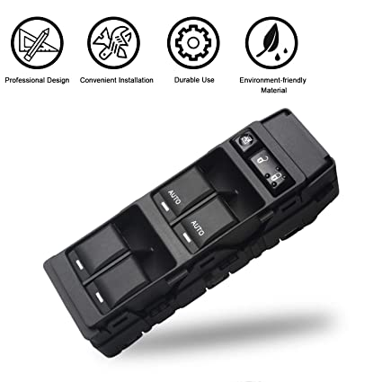 Amazon.com: Travay Driver Side Master Power Window Switch for 2006 on jeep engine wiring harness, jeep transmission wiring harness, jeep starter wiring harness,