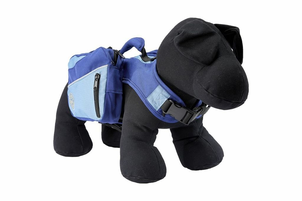 Henry and Clemmies Dog Backpack, Large, Blue
