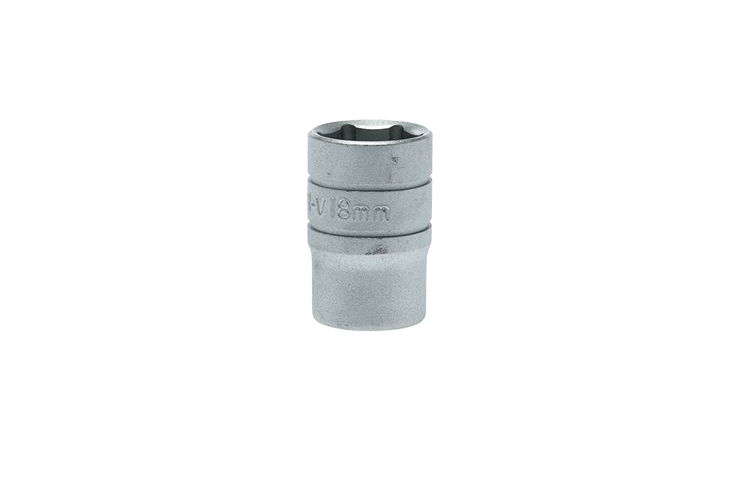 Teng M1205176 17mm 1/2-inch 6-Point Hex Socket Regular Drive TENM1205176