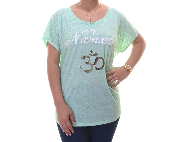 909d0ac0400 Style   Co. Women s  Namaste  Print Slub Tee (1X