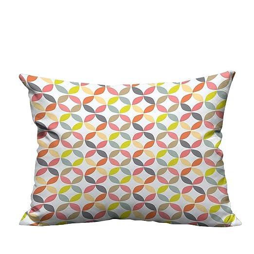 YouXianHome - Funda para cojín de sofá, diseño Ovalado con ...