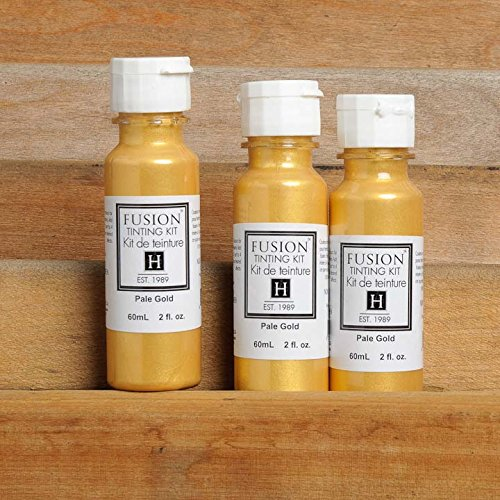Fusion Mineral Paint Metallic Pale Gold 65 milliliters ()