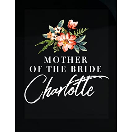 f9799940c9df Amazon.com: My Family Tee Mother Of The Bride Charlotte Personalized ...