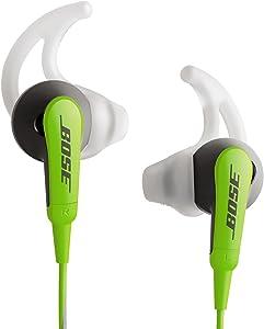 Bose SoundSport In-Ear Headphones for iOS Models, Green