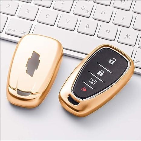 Amazon.com: Ontto - Funda para llave de coche con llavero de ...