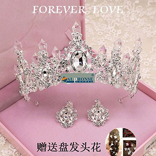 Quantity 1x queen 's_ jewelry crystal Bridal pageant _after_Miss_Champions_League_Champions_League,_second_runner-up_ Crown Tiara Party Wedding Headband Women Bridal Princess Birthday Girl Gift _group