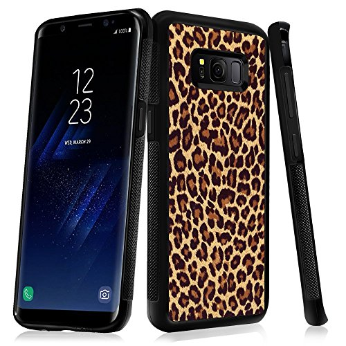 Amazon.com: Samsung Galaxy S8 Case With Leopard Pattern ...