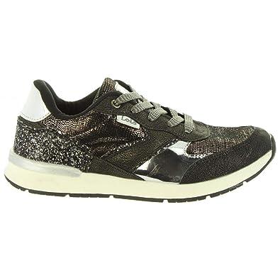 Zapatillas Deporte de Niña LOIS JEANS 83899 26 Negro: Amazon.es: Zapatos y complementos