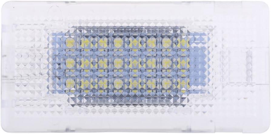 Sharplace Lumi/ère de Coffre de Bagages Voiture LED Lampe Int/érieur Exterieur Plancher Coffre