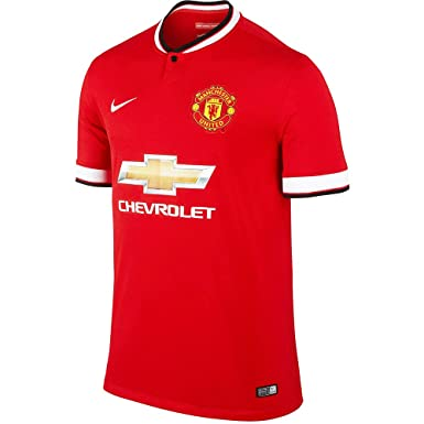 competitive price f689d 05198 Amazon.com: Nike Manchester United Home Men Jersey 2014/2015 ...