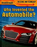 Who Invented the Automobile?, Brian Williams, 1848376812