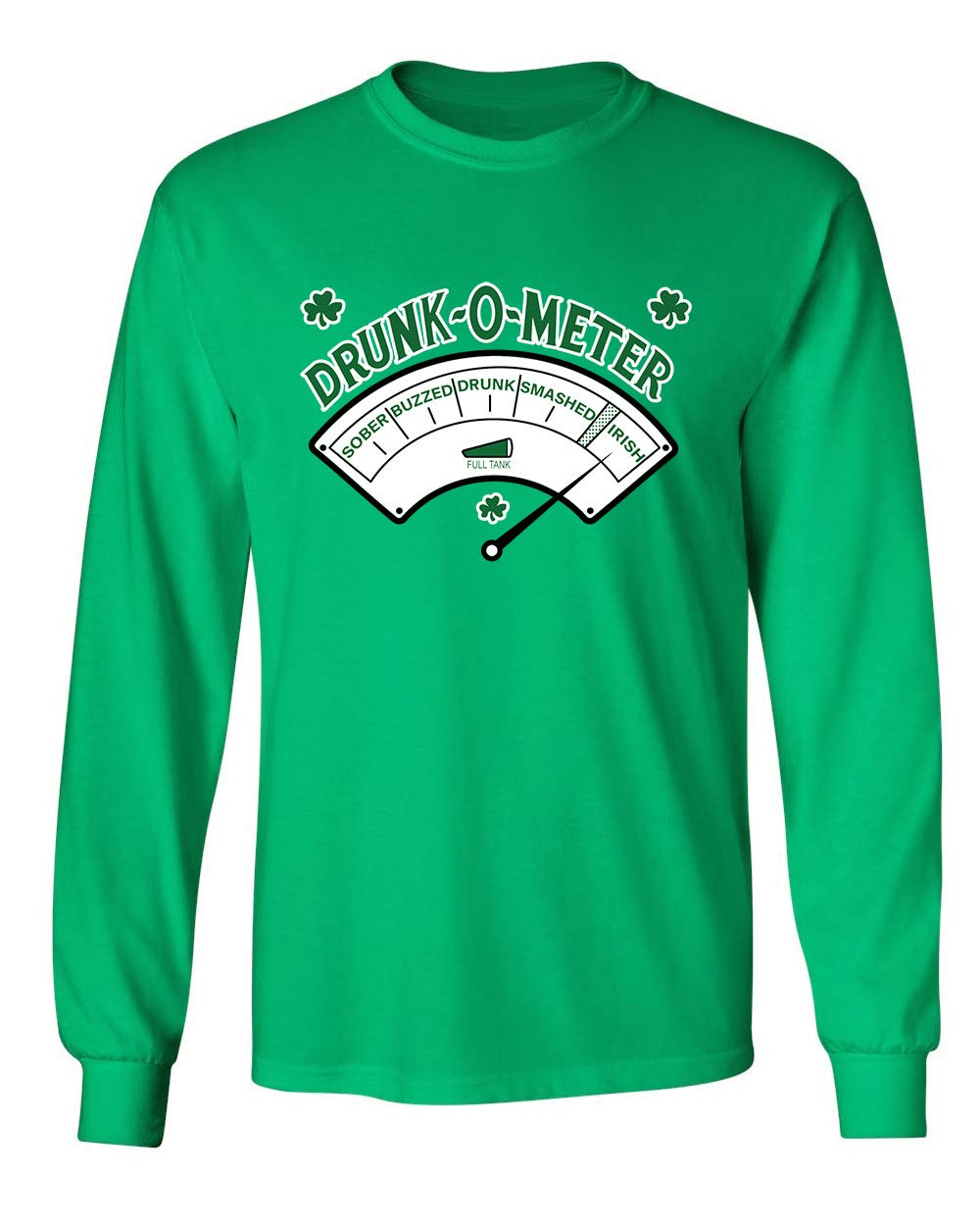 Drunk O Meter St Patrick S Day Saint Irish Pats Sarcastic Funny T Shirt