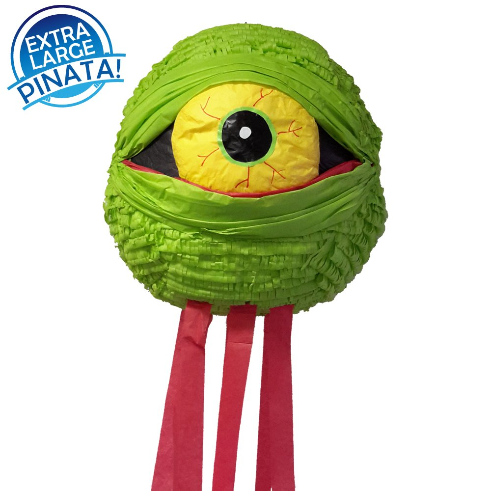 Pinatas Zombie Eye Halloween, Extra Large Party Game and Decoration Idea