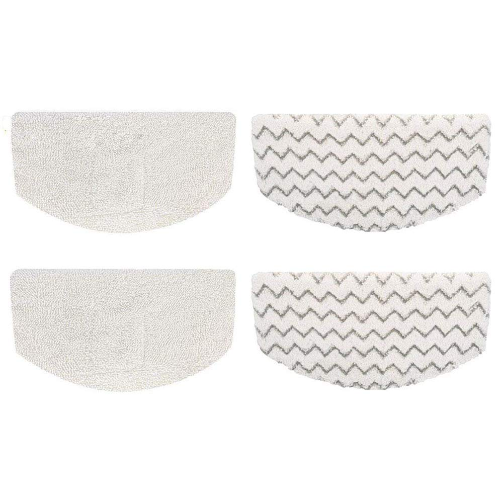 Wowcare 4 Pack Steam Mop Pads for Bissell PowerFresh 1940 1440 1544 Series Model 5938, 1806, 2075A, 19402, 19404, 19408, 1940A, 1940Q, 1940T, 1940W