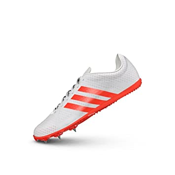 pretty nice c0828 a9125 Womens adidas Adizero Ambition 3 Running Metal Spikes Track Field Shoes  White
