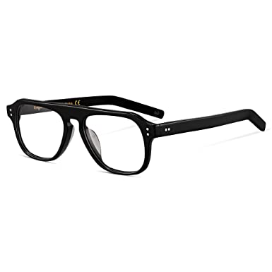 salvare 08b8b 0830d EyeGlow Kingsman, montatura per occhiali da uomo, vintage, lenti  trasparenti opzionali