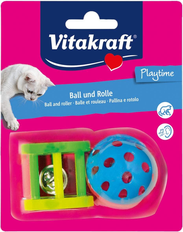 Random Model Vitakraft Ball and Plastic Roller With Bell