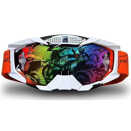 WUIO Gafas, Gafas de Motocross Deportes al Aire Libre Gafas ...