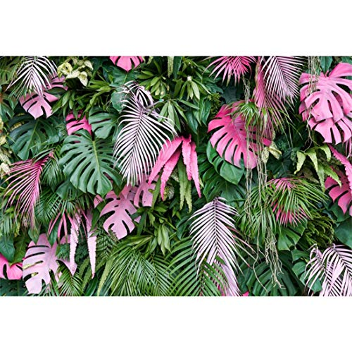 Yeele 10x7ft Tropical Photography Background Forest Vine Jungle Palms Tree Flower Summer Party Photo Backdrops Portrait Shooting Studio -
