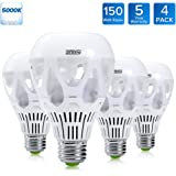 lohas led a19 light bulbs 9 watt 60 watt equivalent led. Black Bedroom Furniture Sets. Home Design Ideas