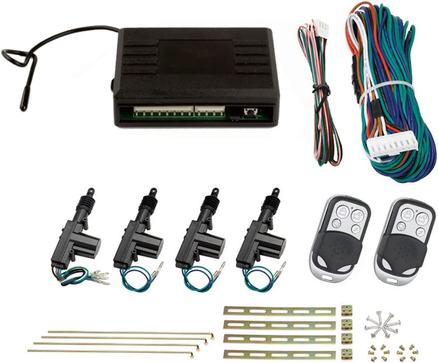 SLPRO 4door de bloqueo central kit completo con controles 2Remote ...