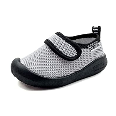 Z-T FUTURE Kids Baby Boy Girl Sneakers Breathable Mesh Lightweight Toddler Shoes for Walking Running Beach Pool