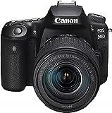 Canon EOS 90D spegelreflexkamera (32,5 MP, 7,7 cm (3 tum) Vari-vinkel Touch LCD, APS-C sensor, 4K, Full-HD, WLAN…