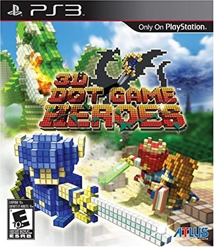 3D Dot Game Heroes - Playstation 3 (Hero Big Game Video)