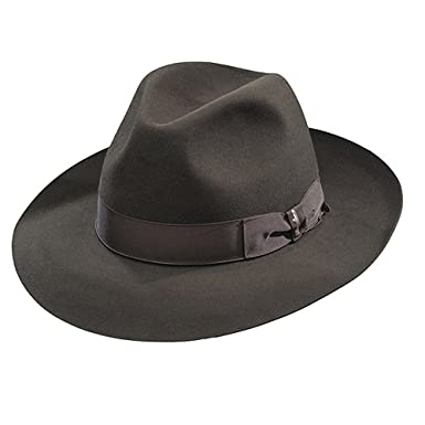 2b761100f59 Borsalino Ernesto - Beaver Fur Felt Hat - Brown at Amazon Men s Clothing  store