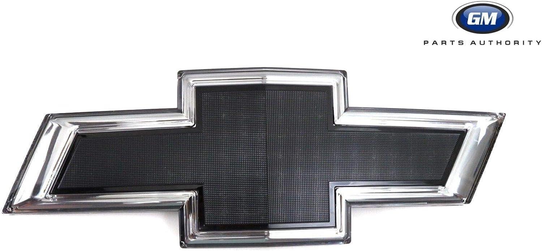 84129741 Black Illuminated Grille Bowtie 2016-2018 Chevrolet Silverado 1500 GM