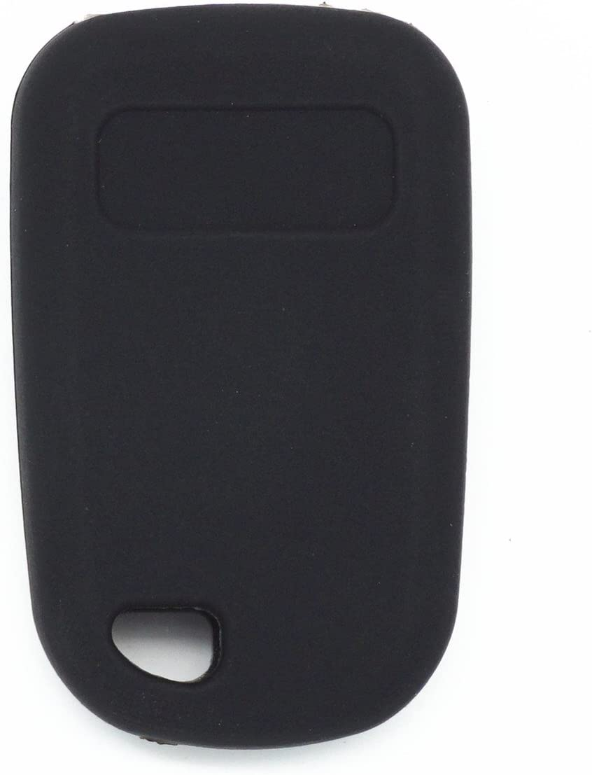 MJKEY Black Silicone Rubber 5 Buttons Smart Remote Key Fob Skin Key Cover Holder Jacket Protector for 1999 2000 2001 2002 2003 2004 Honda Odyssey OUCG8D-440H-A E4EG8DN 72147-S0X-A02