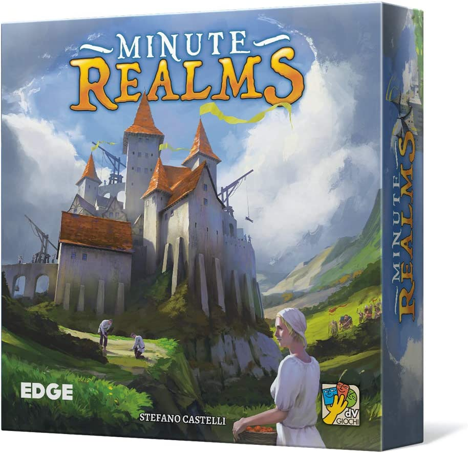 Edge Entertainment- Minute Realms - Español, Color (EEDVMR01): Amazon.es: Juguetes y juegos