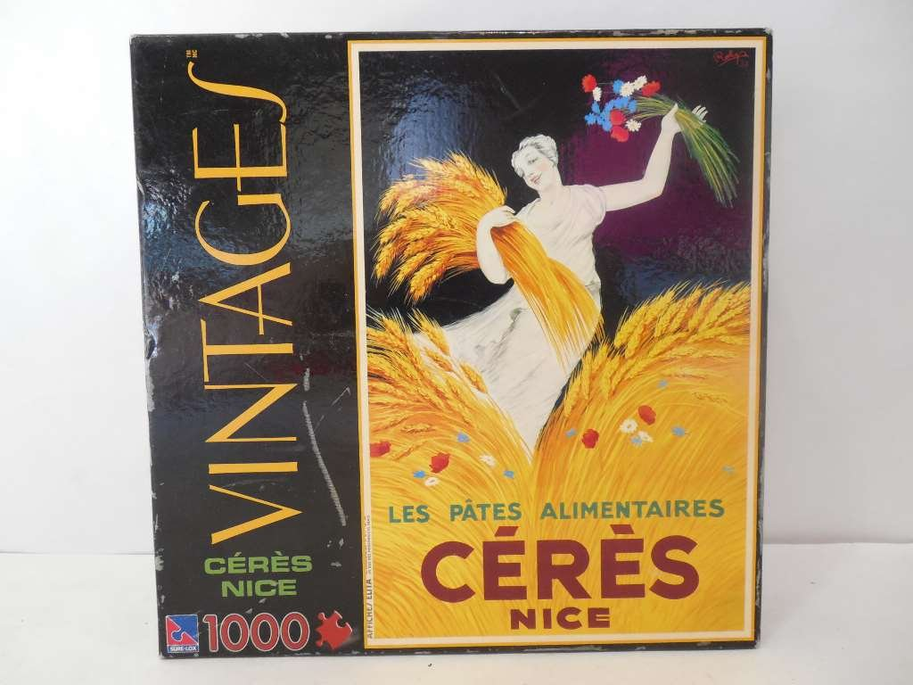 Vintages 1000 1000 1000 Piece Jigsaw Puzzle: Ceres Nice by Sure-Lox by Sure-Lox 22b462