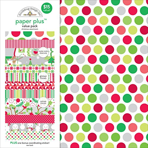 doodlebug-5181-paper-plus-value-supplies-12-pack-12-x-12-christmas-multicolor