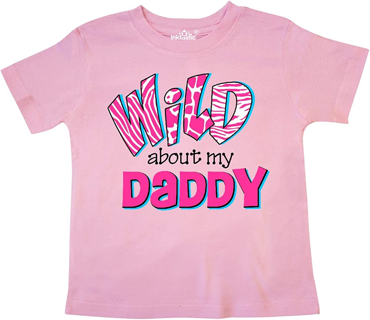 inktastic Wild About Daddy Toddler T-Shirt