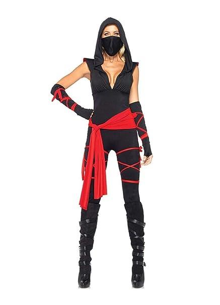 Amazon.com: Deadly Ninja Adult Womens Costume: Clothing